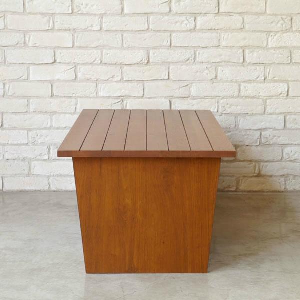 オーク材の素材感が素敵なシリーズ RUDE ルーデ リビングテーブル