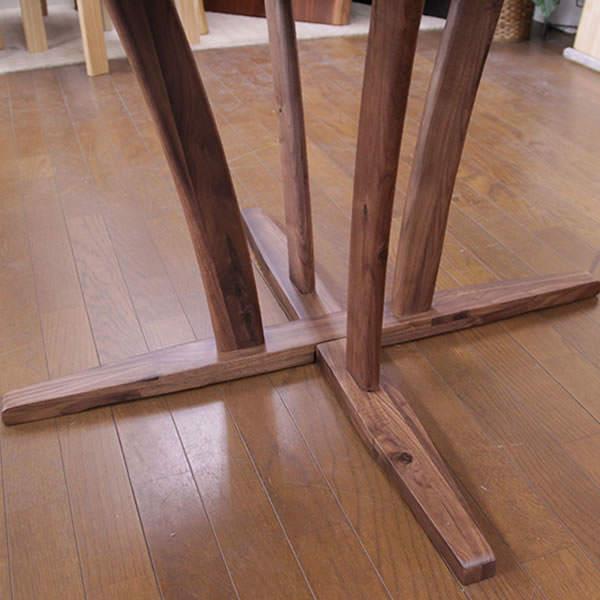 ウォールナット ダイニングテーブル ブルーノ 100cm円形