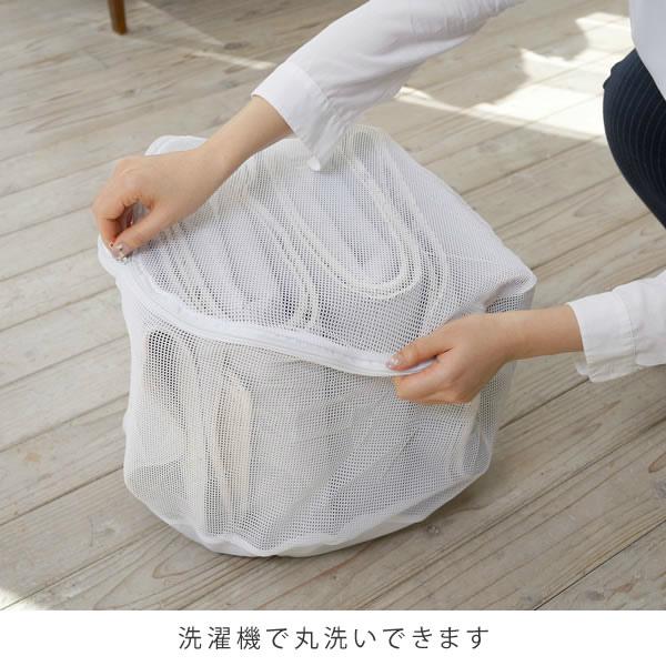 洗濯機で丸洗いできます